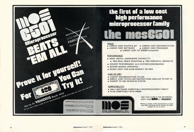 MOS 6501