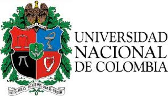Creacion de la universidad Nacional