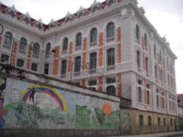 Inauguracion de la Escuela de Artes