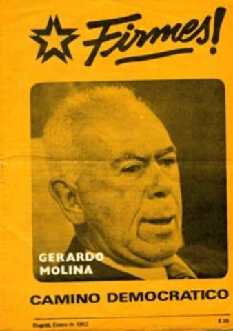 Renuncia de Gerardo Molina