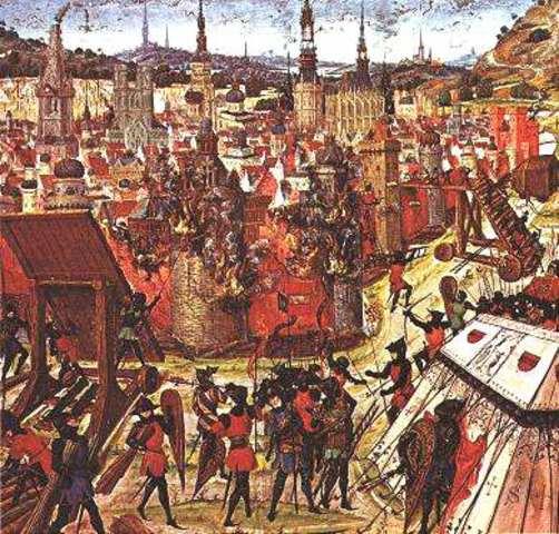 The First Crusade Start - Aleisha