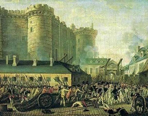 French Revolution-Storming of Bastilles