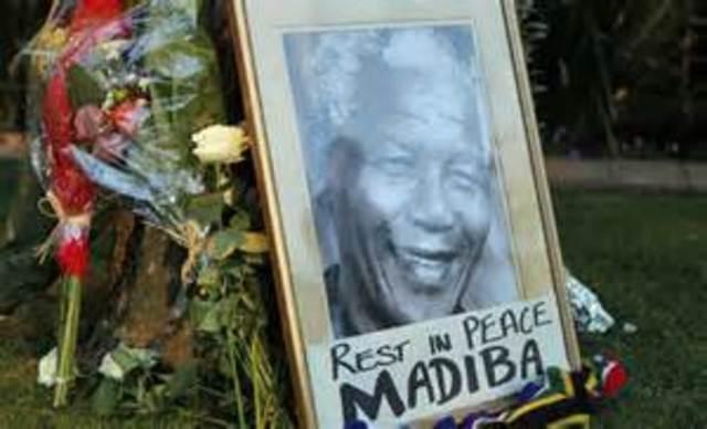Nelson Mandelaren heriotza.