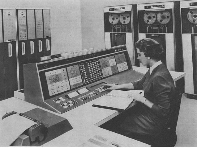 Segunda generación de ordenadores (Hacia 1952)
