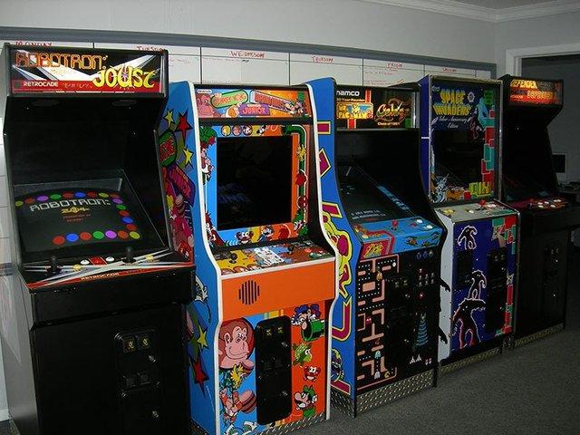 Popularisazión de las maquinas de Arcade