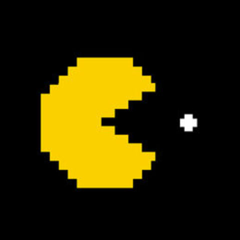 Mascota emblema de los videojuegos Pac Man