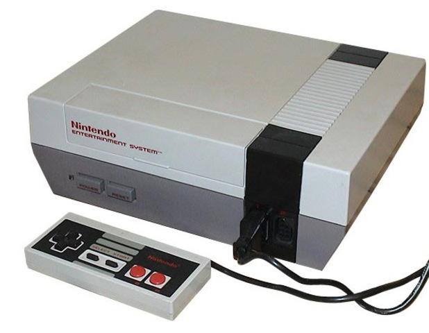 NES primer consila de Nintendo