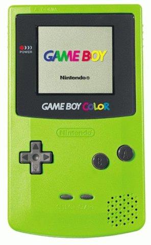Game boy color de Nintendo