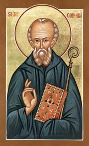 St Columba was Born - Aleisha