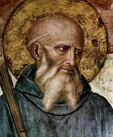 Benedict of Nursia was Born - Aleisha