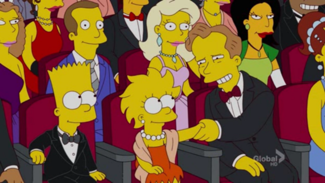 Park makes an appearance in The Simpsons