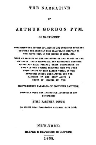 Poe writes his first novel