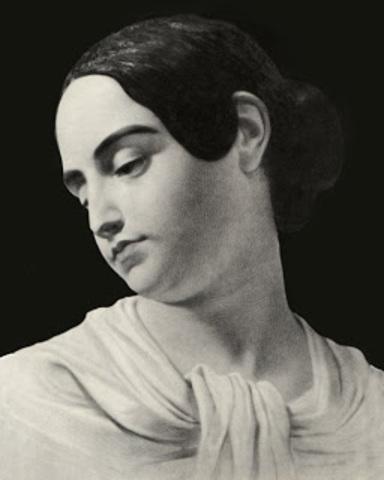 Poe's wife Virginia dies