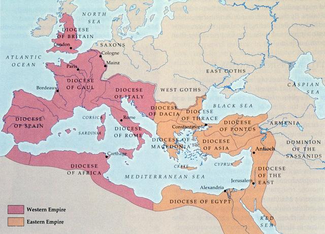 Roman Empire falls