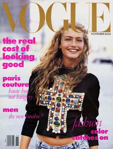 Anna Wintour arrives at Vogue