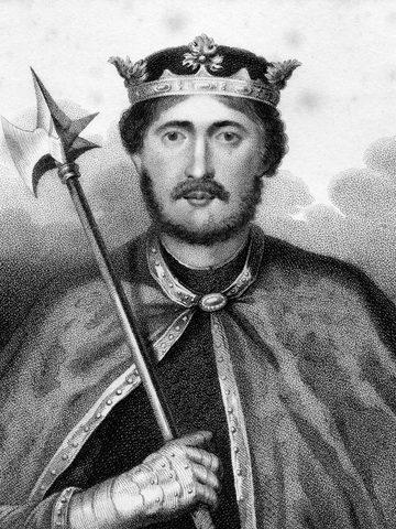 Richard the Lionheart Born - Paris