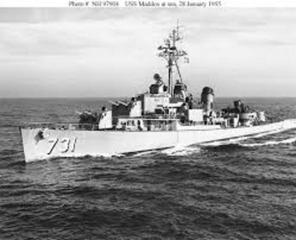USS Maddox