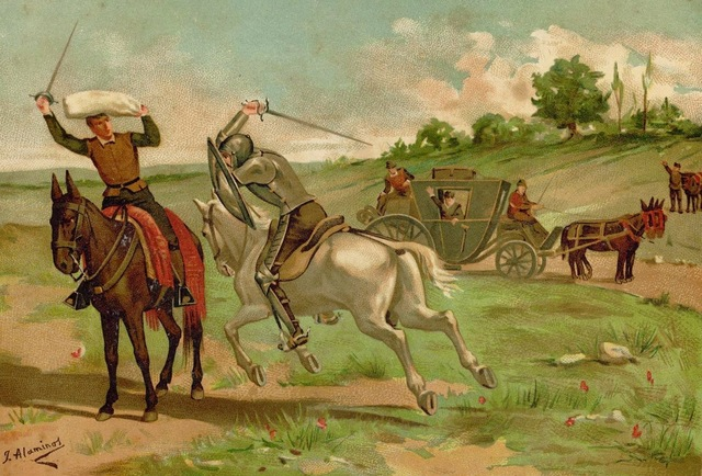 Don Quijote y el Vizcaíno, cap.9