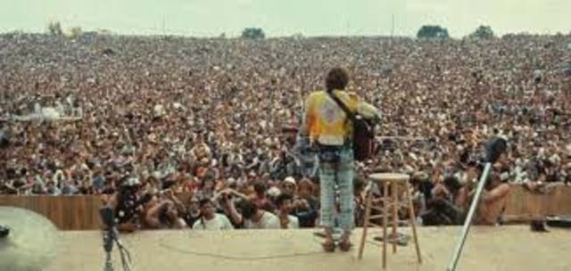 Woodstock Music Festival Day 1