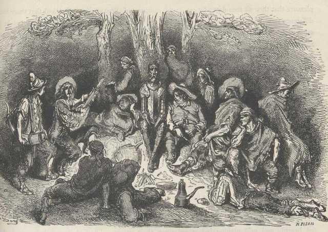 Los cabreros y el Quijote, cap.11