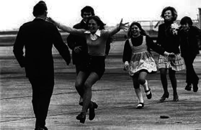 North Vietnam releases POW's