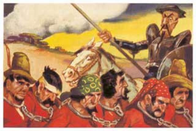 La liberación de los galeotes, cap.22