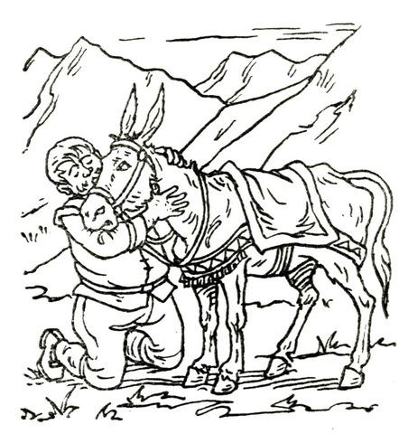 El asno de Sancho, cap.30