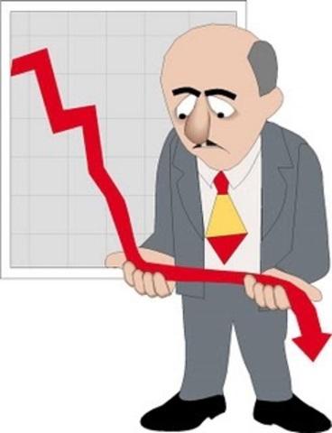 Económico: depresiones económicas aceptaron su desenvolvimiento