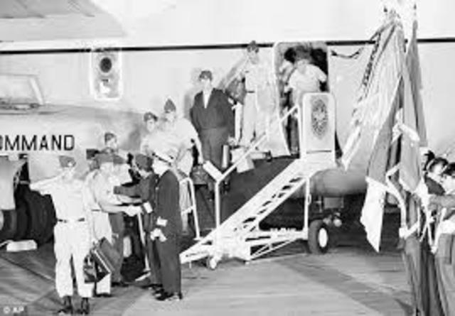 U.S. Troops Brought Back Home