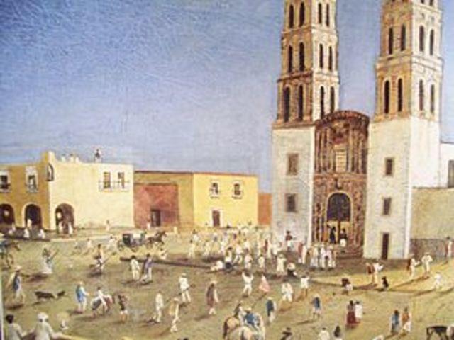 Conspiraciones: de Valladolid a Queretaro