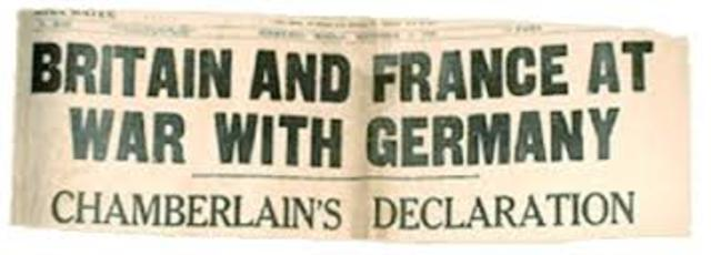 French and British forces stop Germany