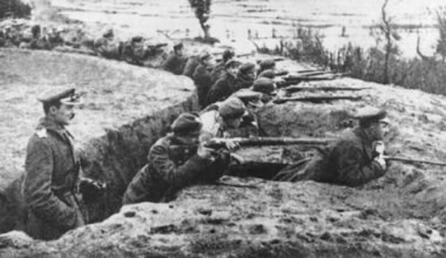 Trench Warefare Commmences