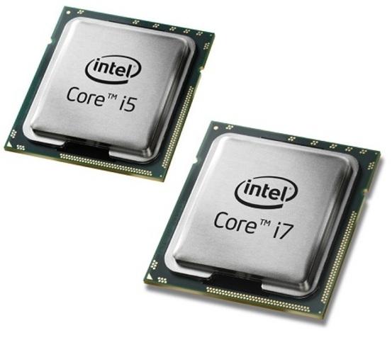 CPU Intel I3 I5 I7