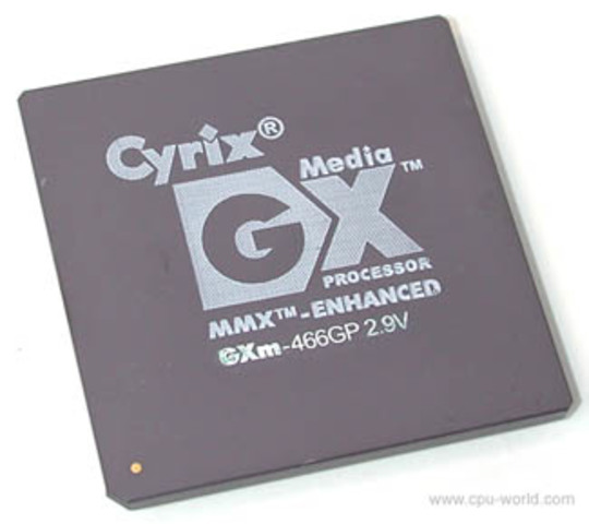 Cyrix O media GX