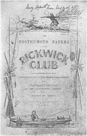 Papeles póstumos del Club Pickwick, 1836 - 1837