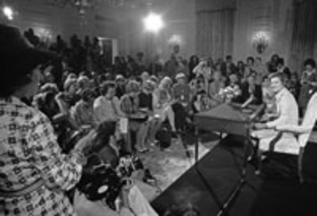 Betty Ford becomes 1st lady