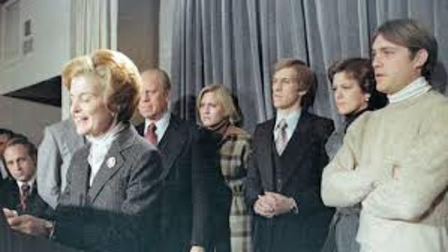Betty Ford Delivers Concession Speech