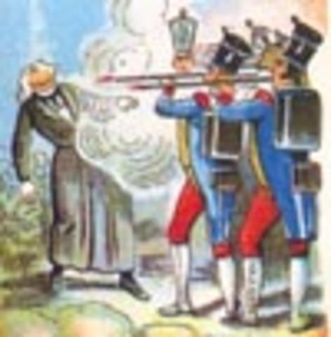 Hidalgo es fusilado.