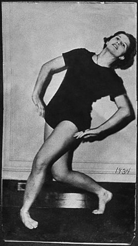 Betty was a dancer and taught dance