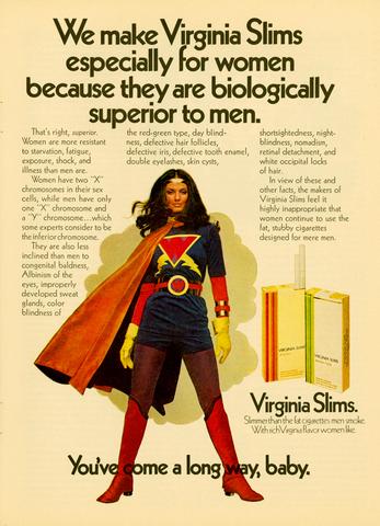 women's freedom, emancipation, and empowerment smoking ad