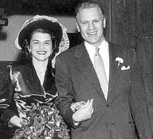 Married Gerald Ford