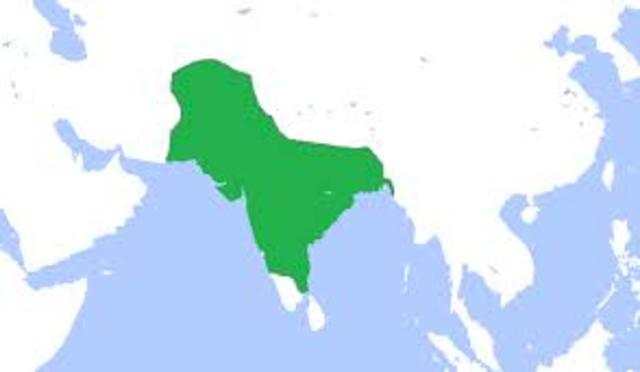 Mughal Empire est. in india