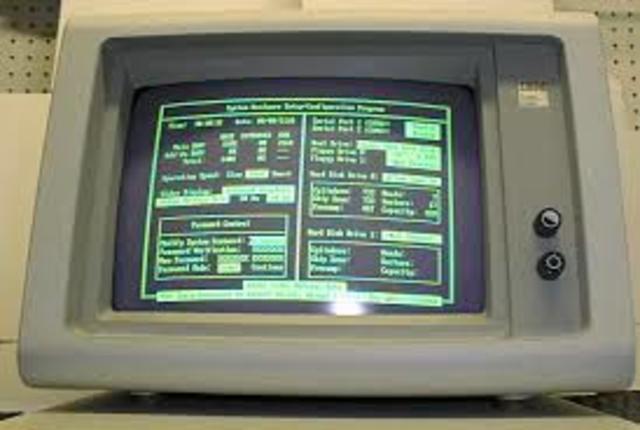 Los primeros monitores