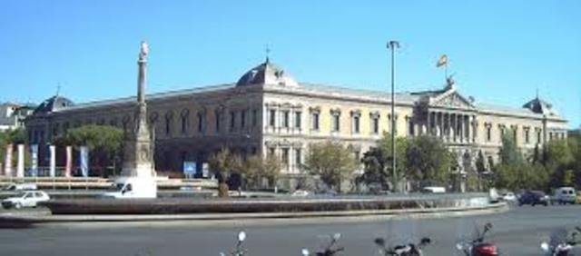 Felipe V crea la Real Academia Española.