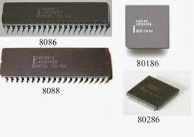 sale a la venta el primer microprocesador comercial