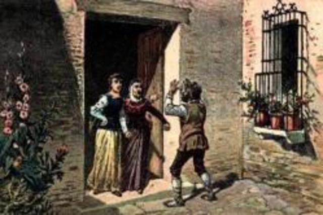 Pendencia de Sancho con la Sobrina y el Ama, cap.2