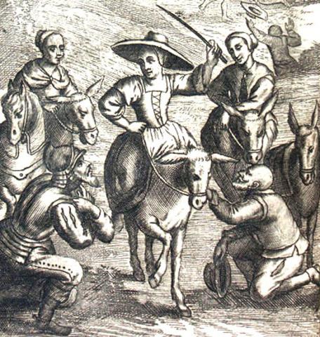 Lo que sucedió a Don Quijote con su Dulcinea, cap.8