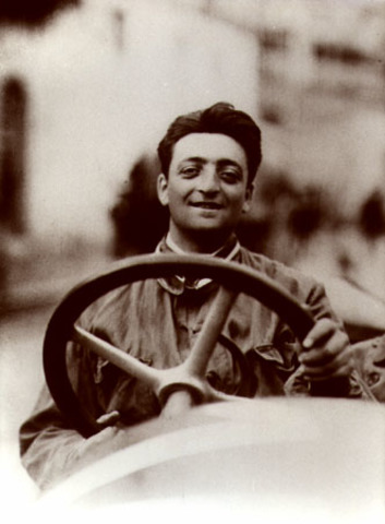 Enzo Ferrari retires from racing to pursue his  love