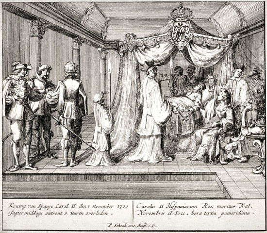 Charles II 's death