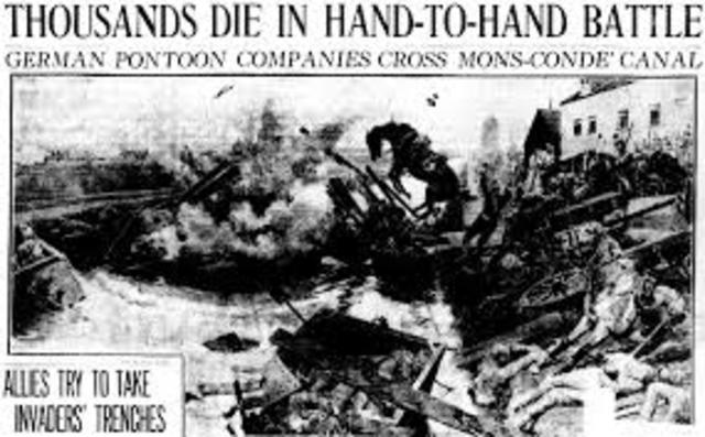Battle of Mons